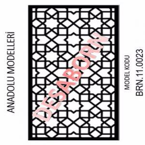 BRN.11.0023 Dekoratif Sac