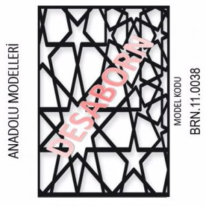 BRN.11.0038 Dekoratif Sac