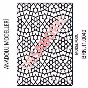 BRN.11.0040 Dekoratif Sac