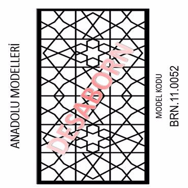 BRN.11.0052 Dekoratif Sac