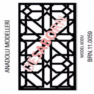 BRN.11.0059 Dekoratif Sac