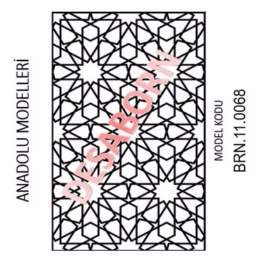 BRN.11.0068 Dekoratif Sac
