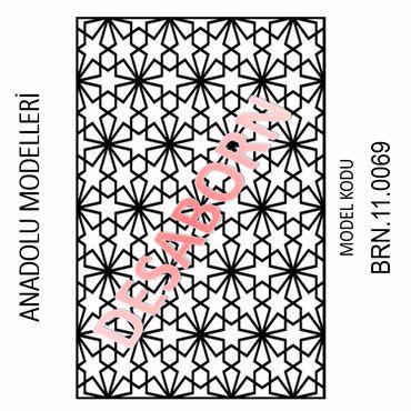 BRN.11.0069 Dekoratif Sac