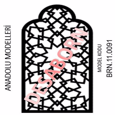 BRN.11.0091 Dekoratif Sac