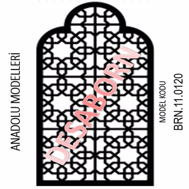 BRN.11.0120 Dekoratif Sac